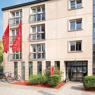 Eingangsbereich der Residenz Ambiente Berlin